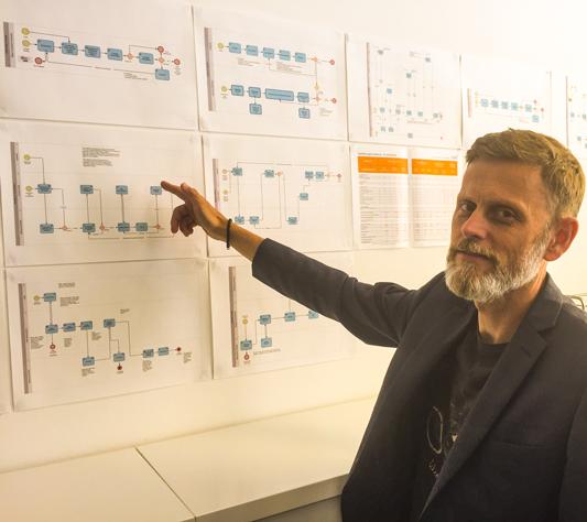Diosentic Systems vd Thomas Kylander är alltid aktiv i processerna kring kvalitet och miljö