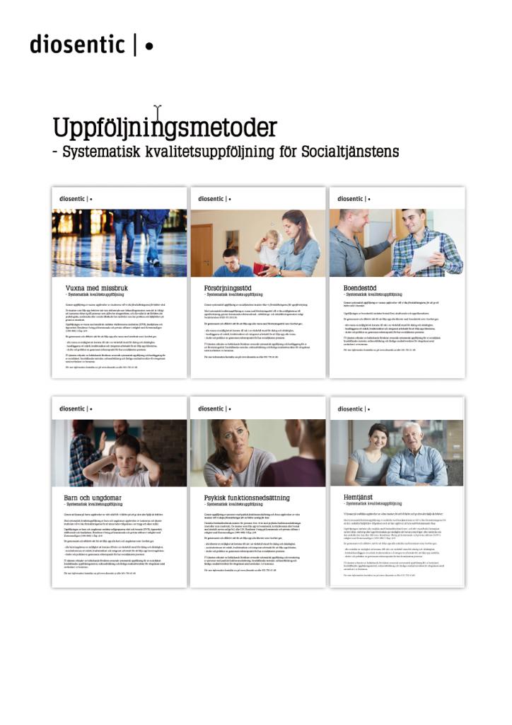 Ladda ner informationsblad på Diosentic Systems alla uppföljningsmetoder för systematisk uppföljning inom socialtjänsten.